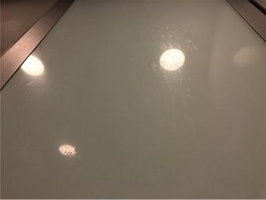強化ガラス施工前