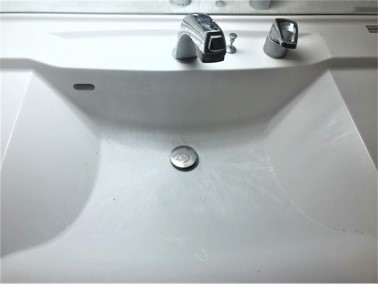 【施工前】洗面所