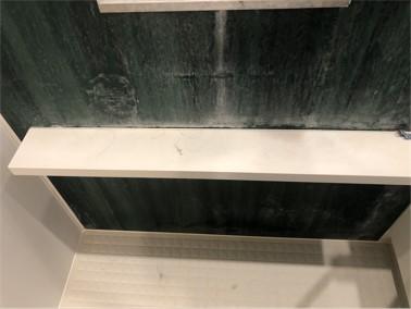 浴室壁面パネル【施工前】