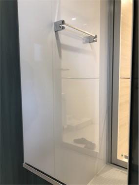 浴室鏡【施工後】