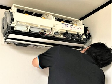 お掃除機能付き壁掛AC top