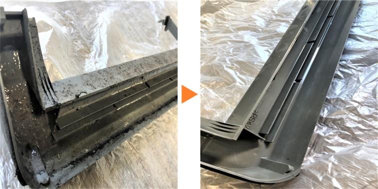 エアコンクリーニング/壁掛エアコンドレンパン分解洗浄