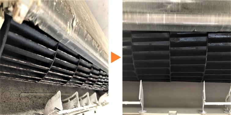 エアコンクリーニング/壁掛エアコン内部ファン洗浄