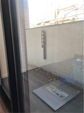掃出しサッシ窓【施工前】
