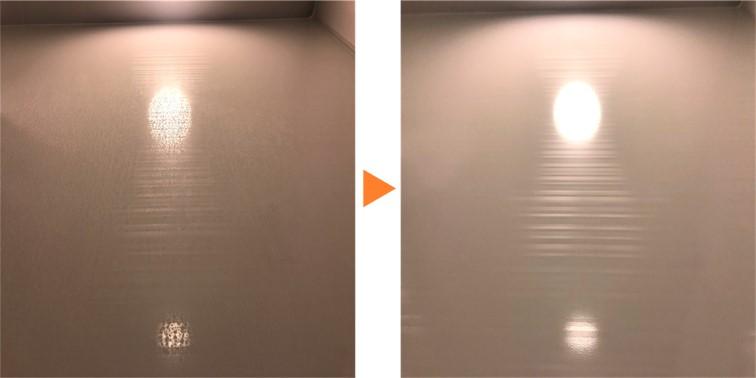 浴室クリーニング/浴室壁面クリーニング④