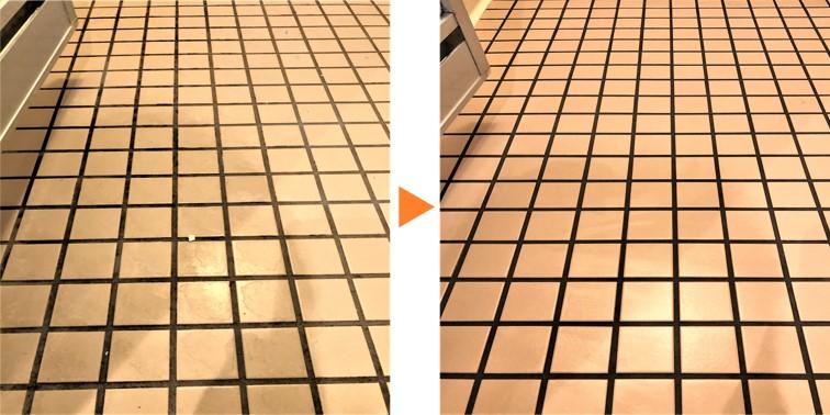 浴室クリーニング/浴室床 磁器タイル仕様
