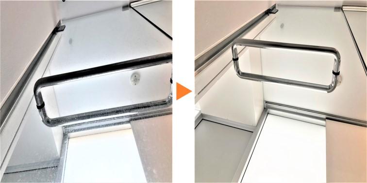 浴室クリーニング/浴室強化ガラス扉クリーニング