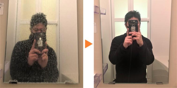 浴室クリーニング/浴室鏡 ウロコ落とし