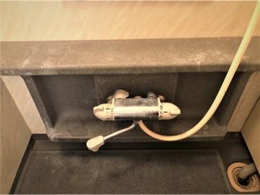 ④空室・浴室クリーニング(水栓金具まわり)