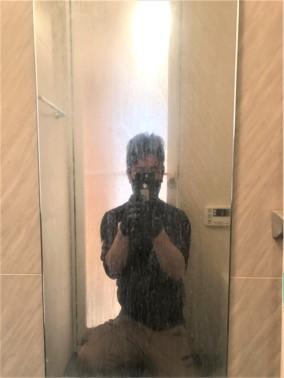 ⑤空室・浴室クリーニング(浴室鏡)【施工前】