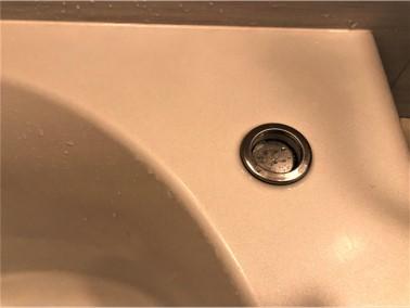 ⑨【施工前】浴槽の天板