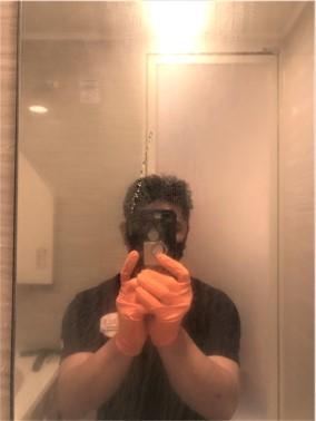⑪【施工前】浴室の鏡