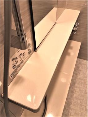 ⑰【施工後】浴室の棚